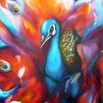 Oilpaint on canvas 70*100cm prijs op aanvraag