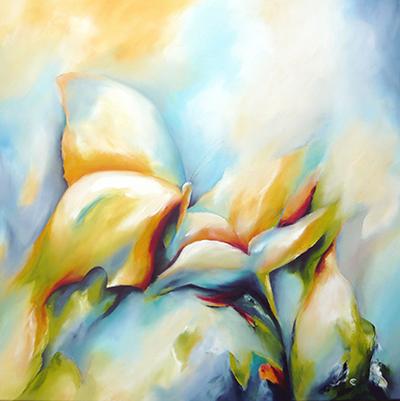 Oilpaint on canvas 70*70cm Prijs op aanvraag