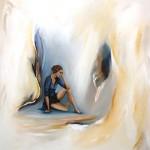 Realisme, oilpaint on canvas, 70*70cm Sold