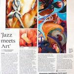 Expositie tijdens de Jazz Deurne