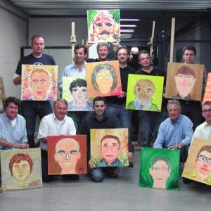Portret workshop
