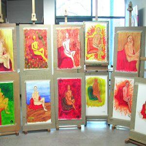 workshop modelschilderen maart aa2006