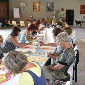 Workshop Intuitief schilderen Stadsgalerij Breda
